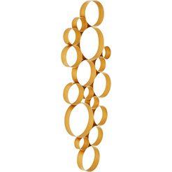 leonique sierobject voor aan de wand goud