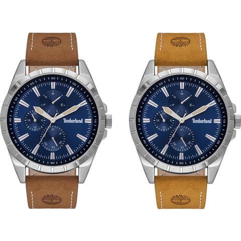 NU 20% KORTING: Timberland multifunctioneel horloge BOXBOROUGH, TBL15909JYS.03AS (Set, 2 tlg., mit W