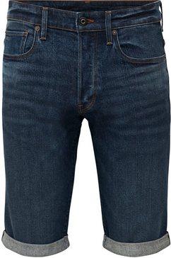 g-star raw jeansshort »short otas stretch denim« blauw