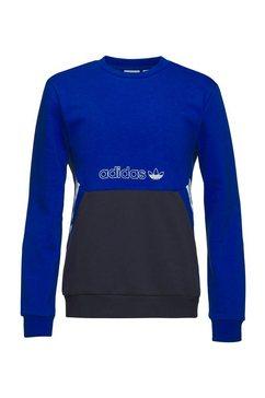 adidas originals sweatshirt crew blauw