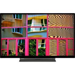 """toshiba led-tv 32wl3c63da, 80 cm - 32 """", hd ready, smart-tv zwart"""