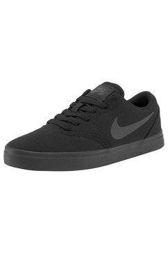 nike sb sneakers check cnvs (gs) zwart