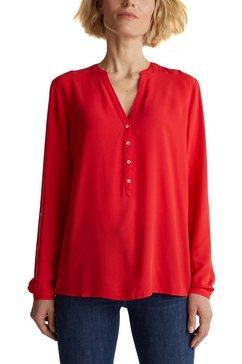esprit klassieke blouse rood