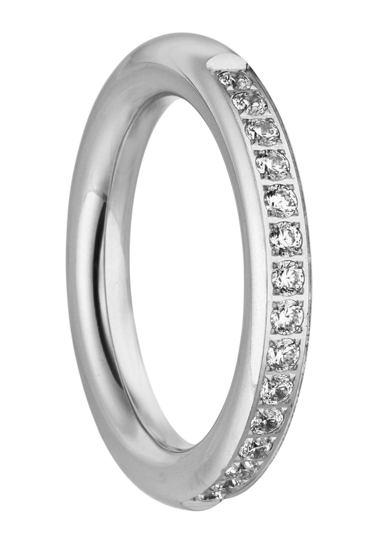 Tamaris ring Emily, TJ170-54, TJ170-56, TJ170-58, TJ170-60 met zirkoon online kopen op otto.nl