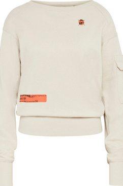 g-star raw sweatshirt »sweatshirt boat neck« wit