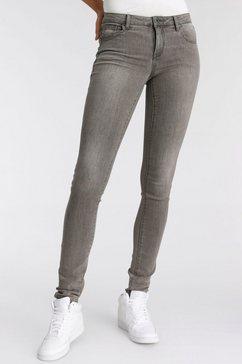 arizona skinny fit jeans ultra stretch mid waist grijs