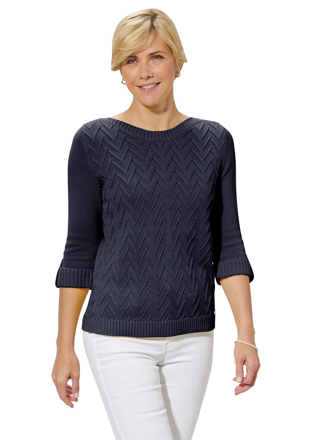Casual Looks trui met 3/4-mouwen Trui goedkoop op otto.nl kopen