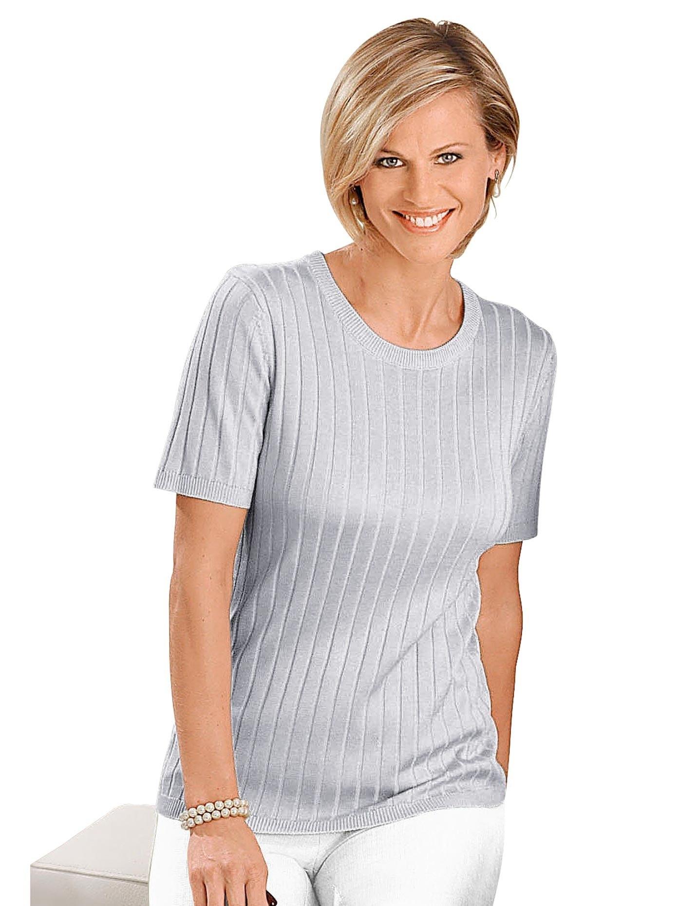 Classic trui met korte mouwen Trui nu online bestellen