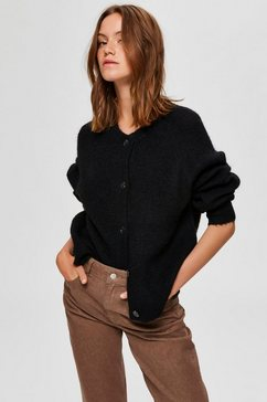 selected femme vest »slflulu« zwart