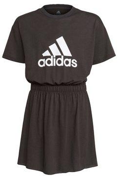 adidas performance jurk in a-lijn girls' dance dress zwart