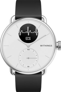 withings smartwatch scanwatch, 38 mm wit