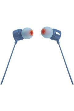 jbl in-ear-hoofdtelefoon t110 blauw