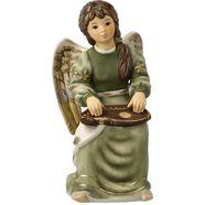 goebel engelfiguur citerspeelster gloria (1 stuk) groen