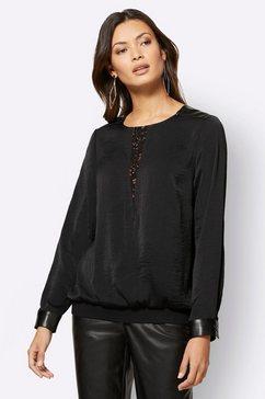 creation l kanten blouse zwart