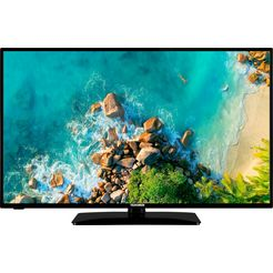 telefunken »d43f553m1« led-tv zwart