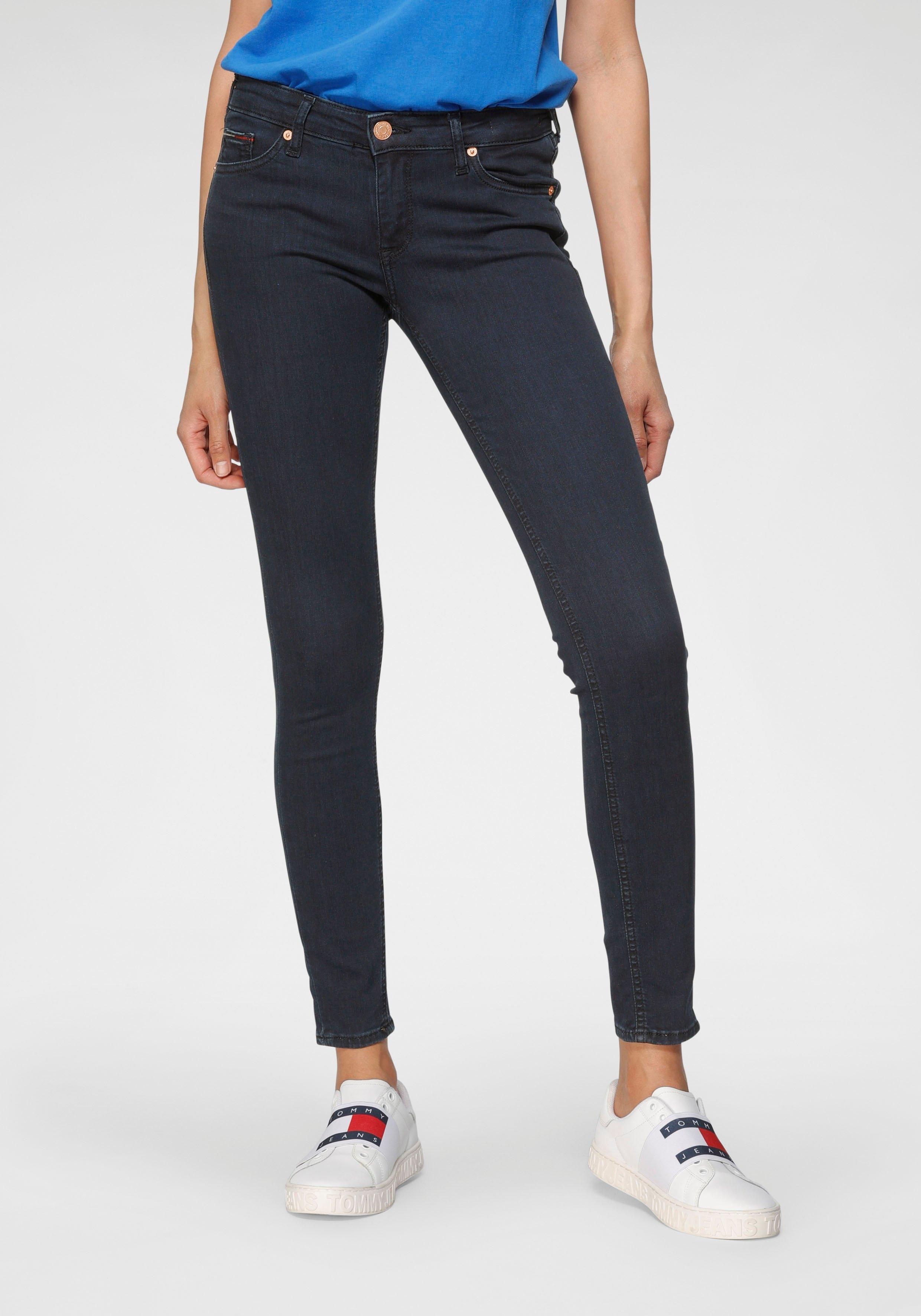 TOMMY JEANS skinny fit jeans SOPHIE LR SKNY met tommy jeans-logobadge & borduursels in de webshop van OTTO kopen