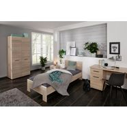 holzzone bed »solo« beige