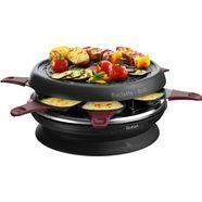 tefal »re1820 neo invent« raclette zwart