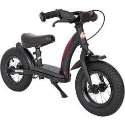 bikestar »bikestar kinderlaufrad classic ab 2 jahre mit bremse« loopfiets zwart