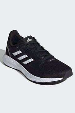 adidas performance runningschoenen »run falcon 2.0« zwart