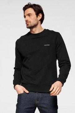 calvin klein sweatshirt ck logo embroidery sweatshirt zwart