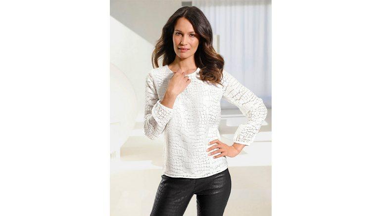 Lady blouse zonder sluiting