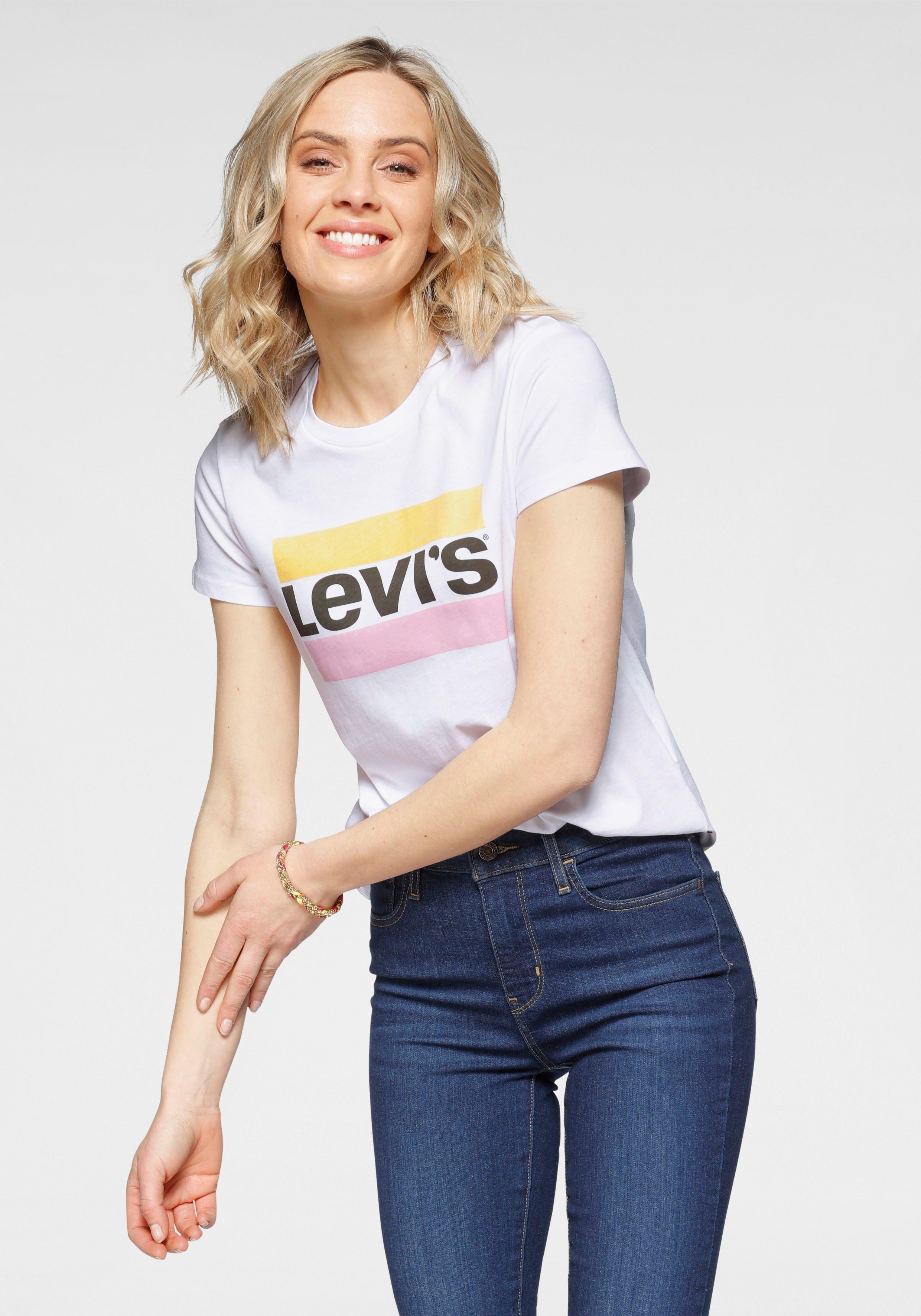 Levi's T-shirt Graphic Sport Tee Pride Edition Logoprint op borsthoogte bestellen: 30 dagen bedenktijd