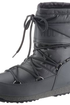 moonboot snowboots »moon boot mid nylon wp« grijs