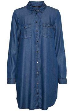 vero moda jeansjurk vmsilla blauw