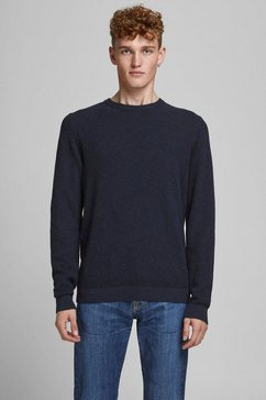 jack  jones trui met ronde hals »tyler« blauw