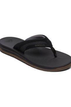 quiksilver sandalen »coastal excursion« zwart