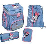 scooli schooltas easyfit, minnie mouse (set, 5) blauw