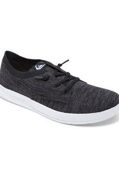 quiksilver sneakers harbor drift zwart