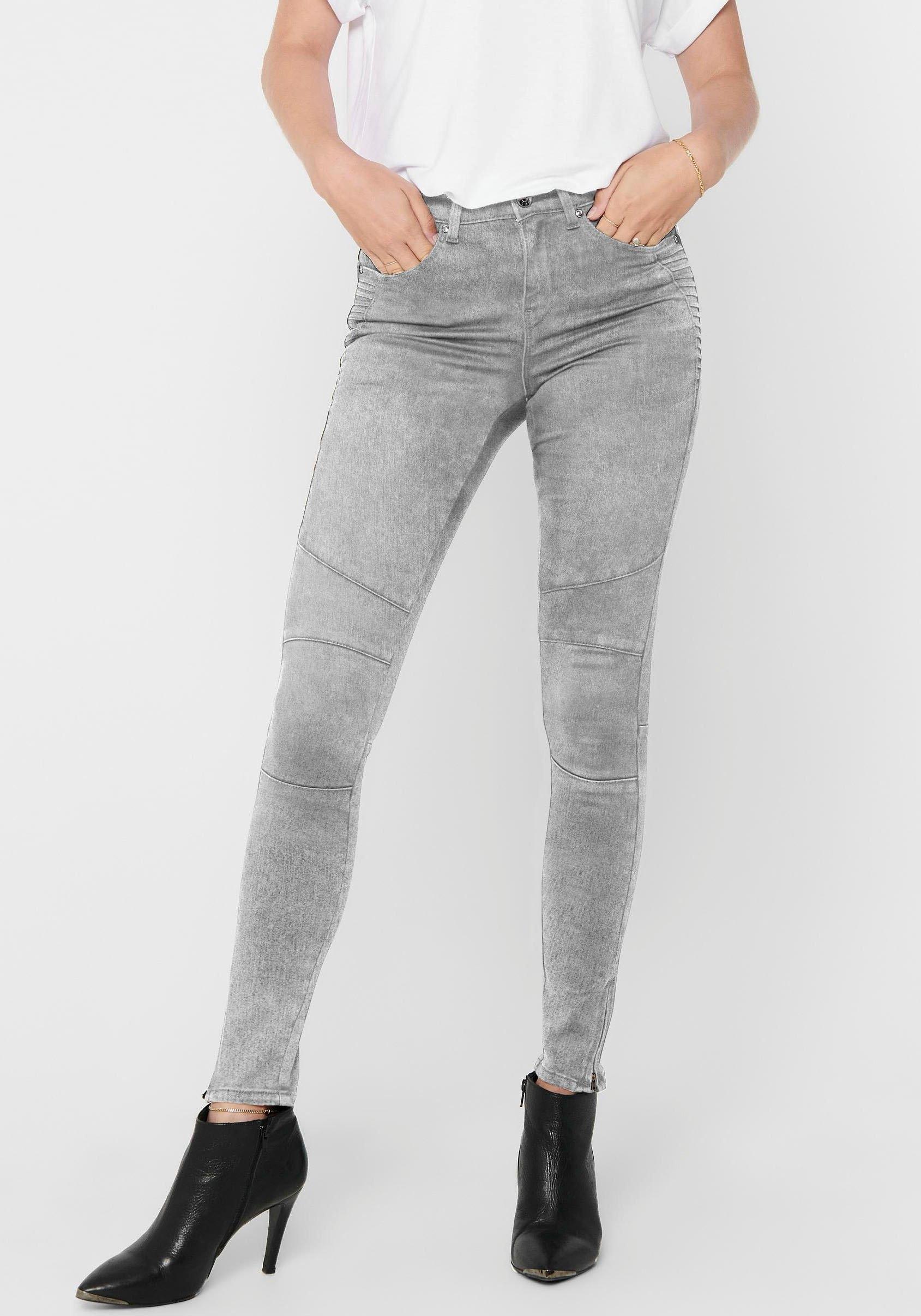 Only biker jeans ONLROYAL met biker-details goedkoop op otto.nl kopen