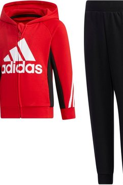 adidas performance joggingpak »little kids french terry tracksuit« zwart