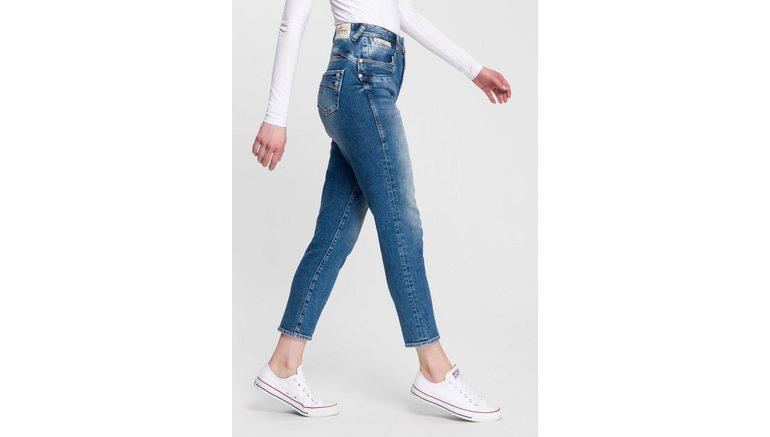 Herrlicher high-waist jeans PIPER HIGH CONIC nieuwe taps toelopende pasvorm