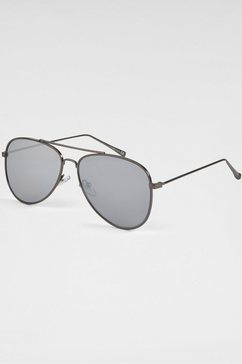 primetta eyewear pilotenbril grijs