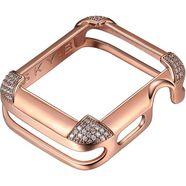 sky•b smartwatch-afdekking pavé corners, w002r40, 40 mm goud
