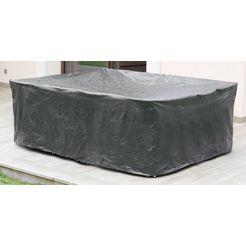 konifera beschermhoes »tahiti«, loungebett, (l-b-h) 190x181x77 cm grijs