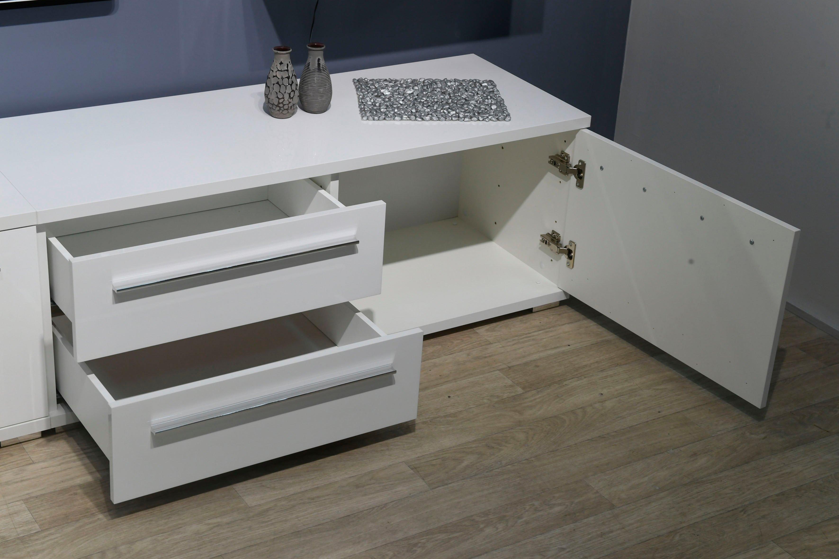 Places of Style tv-meubel Piano UV gelakt, met soft close-functie in de webshop van OTTO kopen