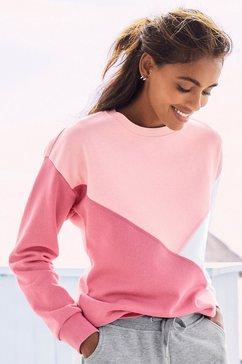 buffalo sweatshirt roze