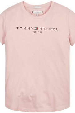 tommy hilfiger t-shirt essential tee s-s roze