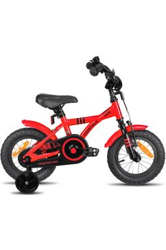 prometheus bicycles »hawk« kinderfiets rood