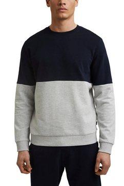 edc by esprit sweatshirt met ronde hals blauw