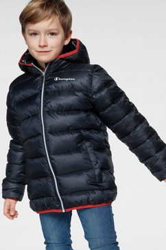champion winterjack »hooded jacket« blauw