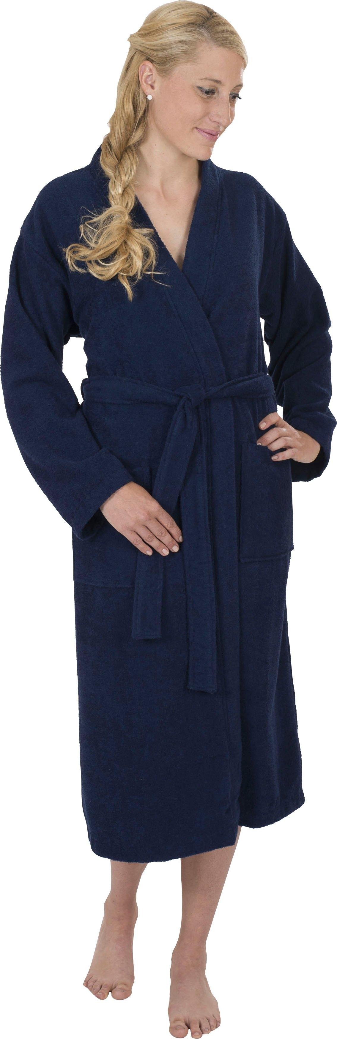 Wewo fashion uniseks badjas 3048 lichte badjas (1 stuk, Met riem) voordelig en veilig online kopen