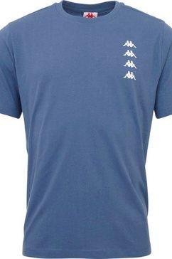 kappa t-shirt blauw