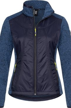 deproc active tricot-fleecejack »lake rodell women« blauw