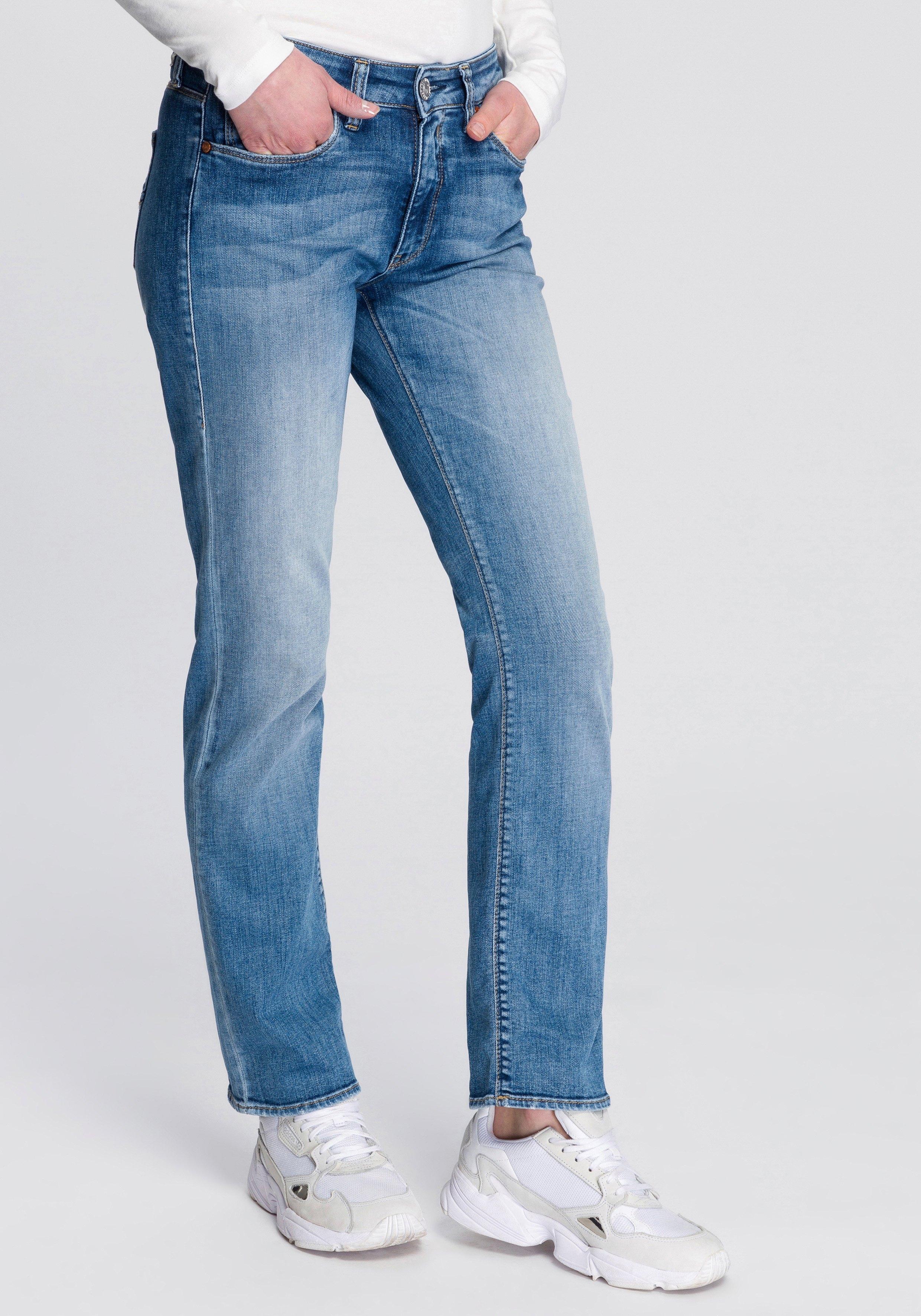 Herrlicher slim fit jeans »SUPER G SLIM ORGANIC« - verschillende betaalmethodes