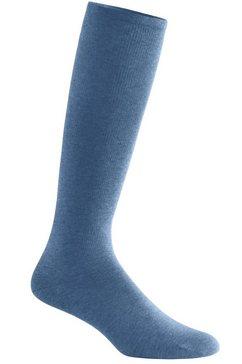 waeschepur compressiekousen (2 paar) blauw